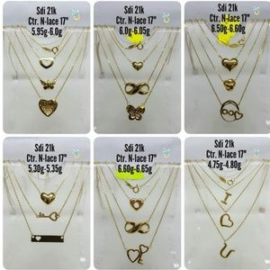 Jewelry - 21K Saudi Gold Necklace